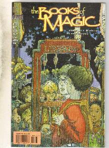The Books of Magic #40 comic book near mint 9.4