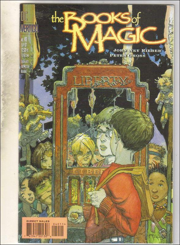 The Books of Magic #40 comic book near mint 9.4