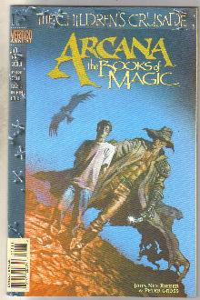 Arcana annual #1 comic book  near mint 9.4