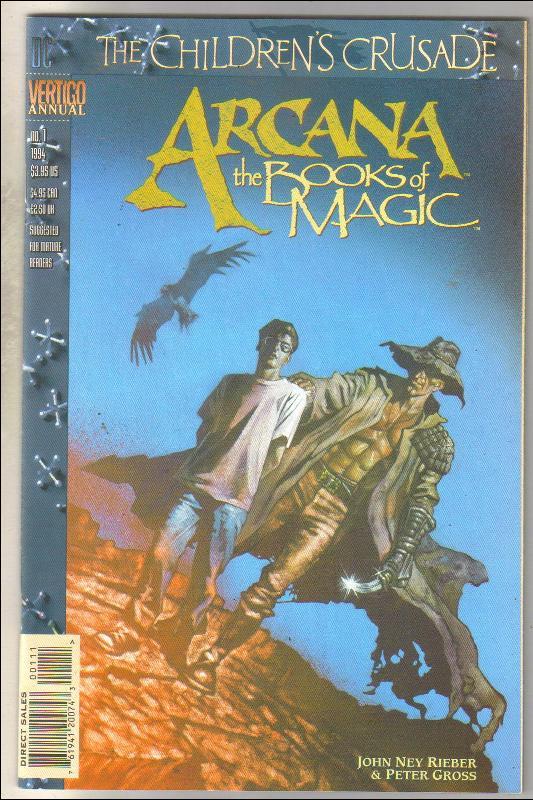 Arcana annual #1 comic book  near mint 9.4