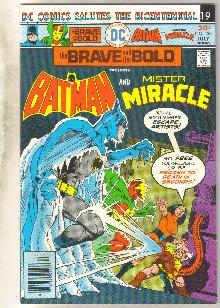 Brave and the Bold #128 comic book very fine/near mint 9.0