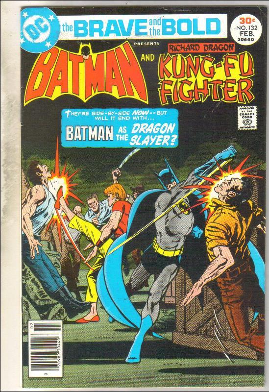 Brave and the Bold #132 comic book fine 6.00