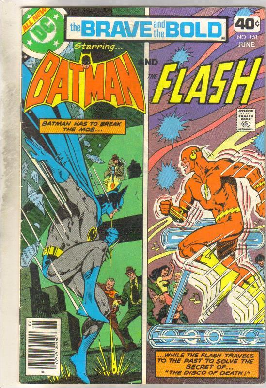 Brave and the Bold #151 comic book fine 6.0