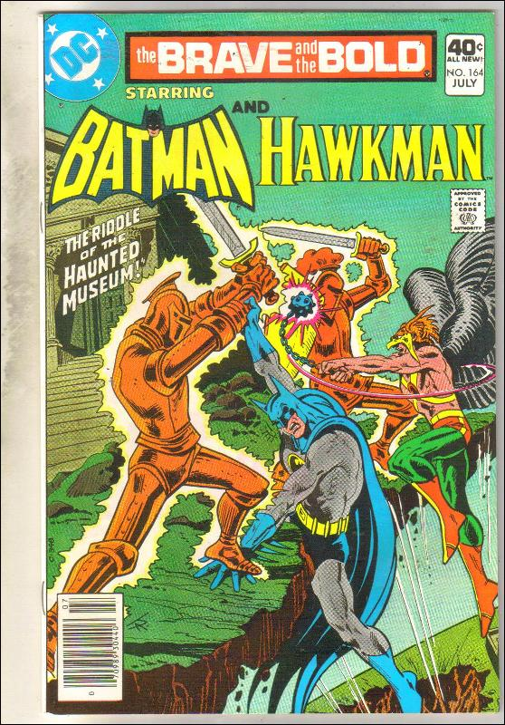 Brave and the Bold #164 comic book near mint 9.4