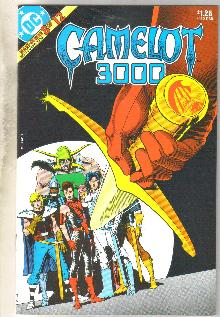 Camelot 3000 #8 comic book  near mint 9.4