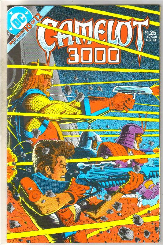 Camelot 3000 #10 comic book very fine 8.0