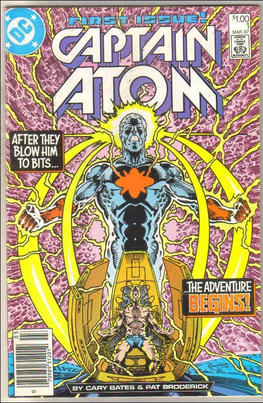 Captain Atom #1 comic book near mint 9.4