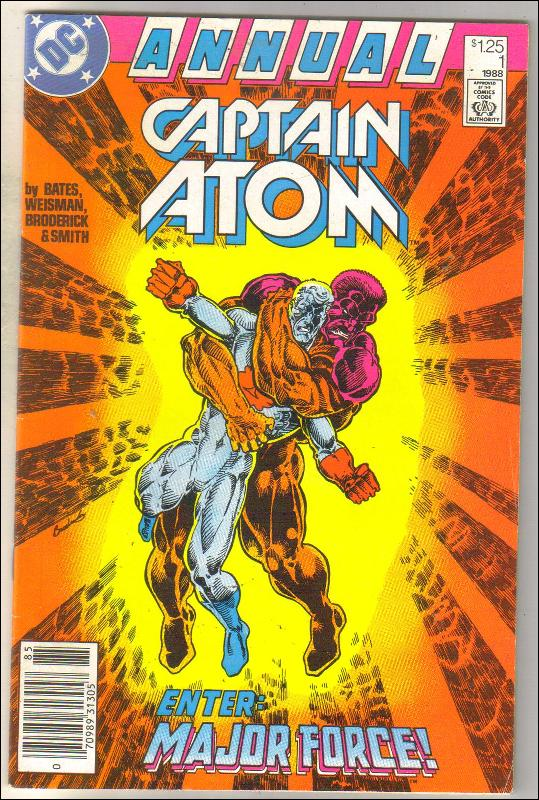 Captain Atom Annual #1 comic book near mint 9.4