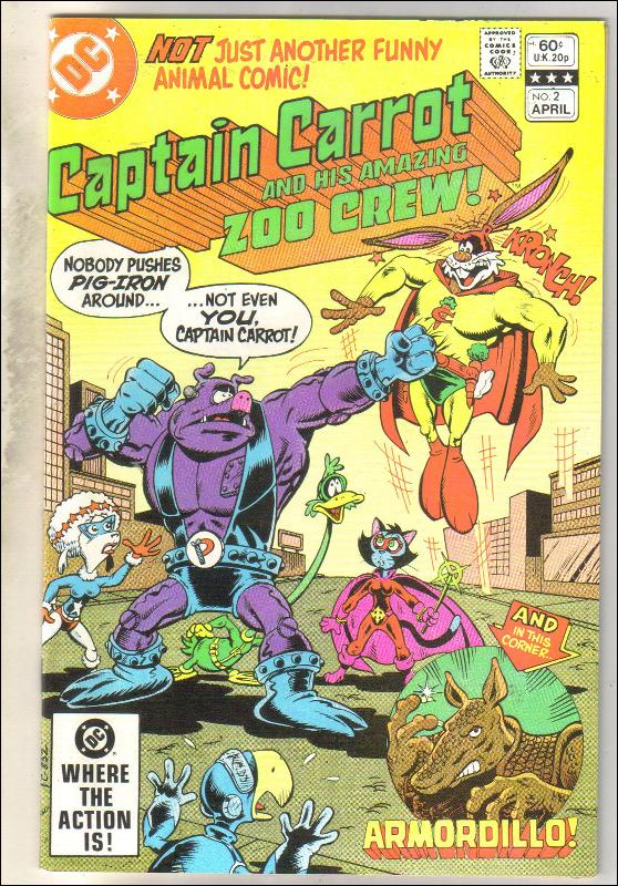 Captain Carrot #2 comic book near mint 9.4
