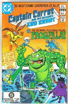 Captain Carrot #3 comic book near mint 9.4