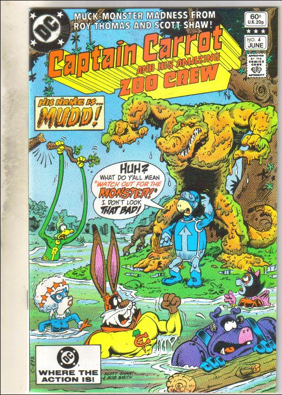 Captain Carrot #4 comic book mint 9.8