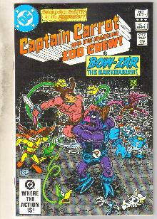 Captain Carrot #7 comic book near mint 9.4