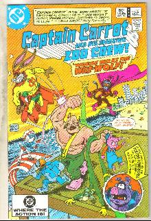 Captain Carrot #10 comic book near mint 9.4