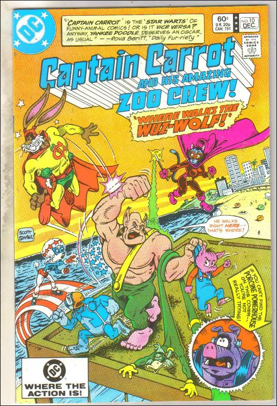Captain Carrot #10 comic book near mint 9.4