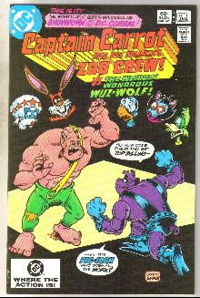Captain Carrot #11 comic book near mint 9.4