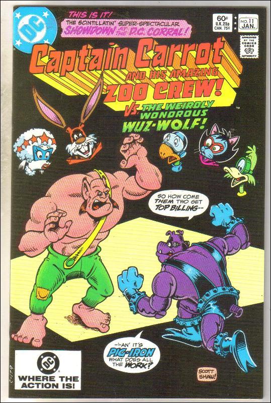 Captain Carrot #11 comic book near mint 9.4