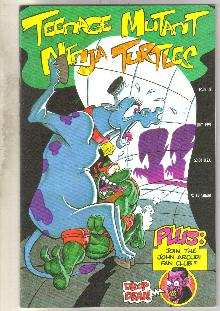 Teenage Mutant Ninja Turtles #38 comic book near mint 9.4