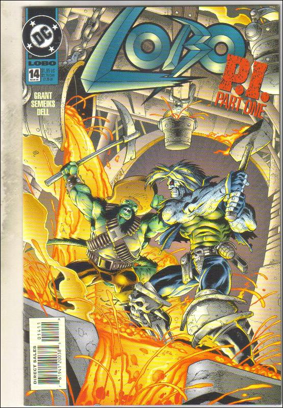 Lobo #14 comic book near mint 9.4