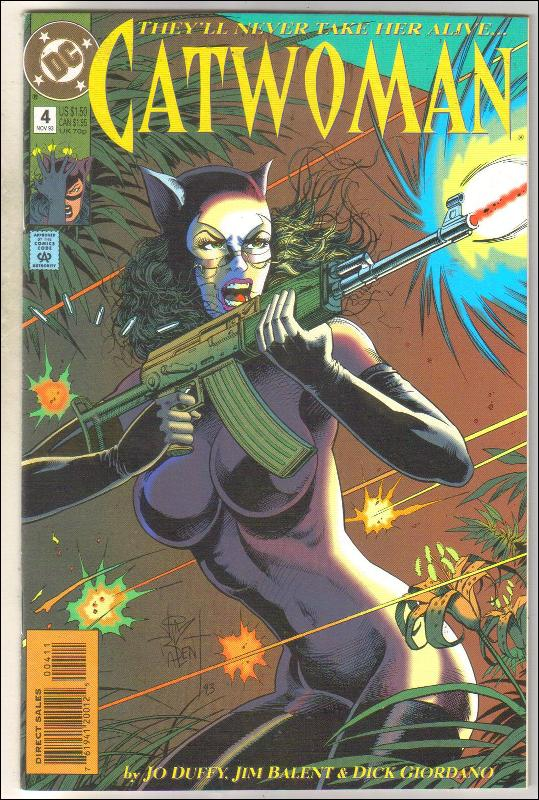 Catwoman #4 comic book near mint 9.4