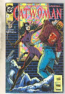 Catwoman #5 comic book near mint 9.4
