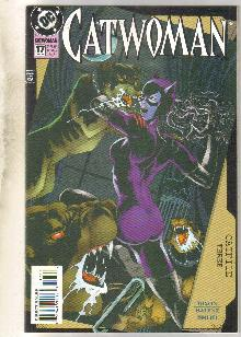Catwoman #17 comic book near mint 9.4