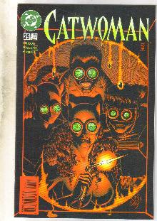Catwoman #29 comic book near mint 9.4