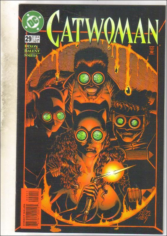 Catwoman #29 comic book near mint 9.4