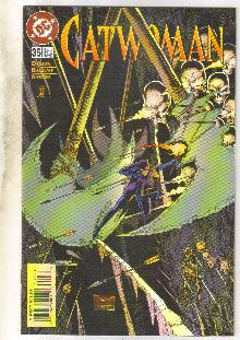 Catwoman #35 comic book near mint 9.4