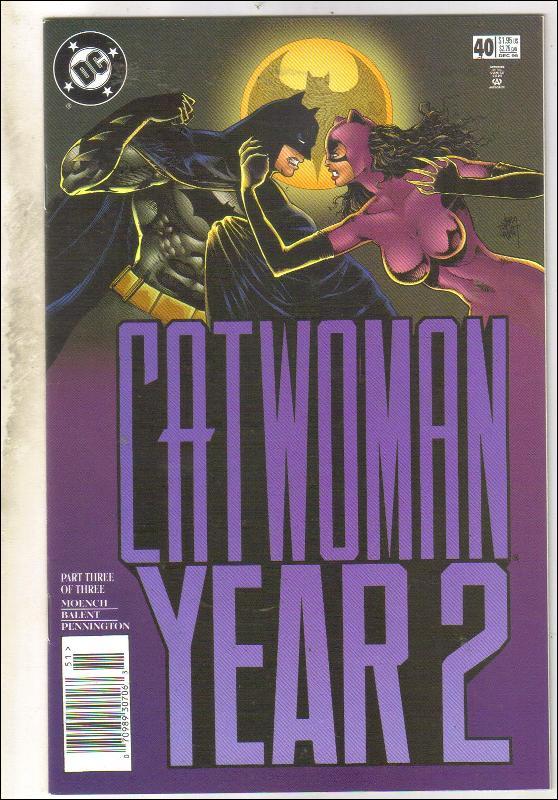 Catwoman #40 comic book near mint 9.4