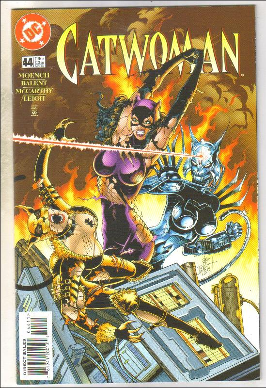 Catwoman #44 comic book near mint 9.4