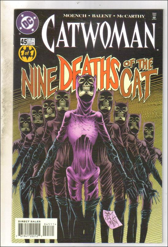 Catwoman #45 comic book mint 9.8