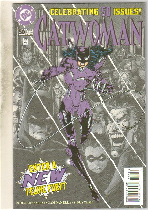 Catwoman #50 comic book near mint 9.4