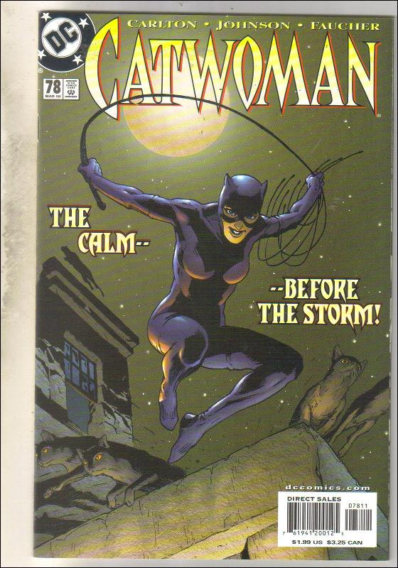 Catwoman #78 comic book mint 9.8
