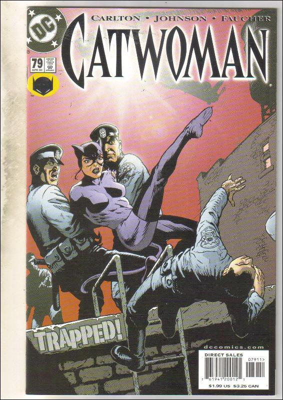 Catwoman #79 comic book mint 9.8