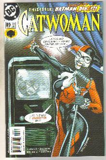 Catwoman #89 comic book mint 9.8