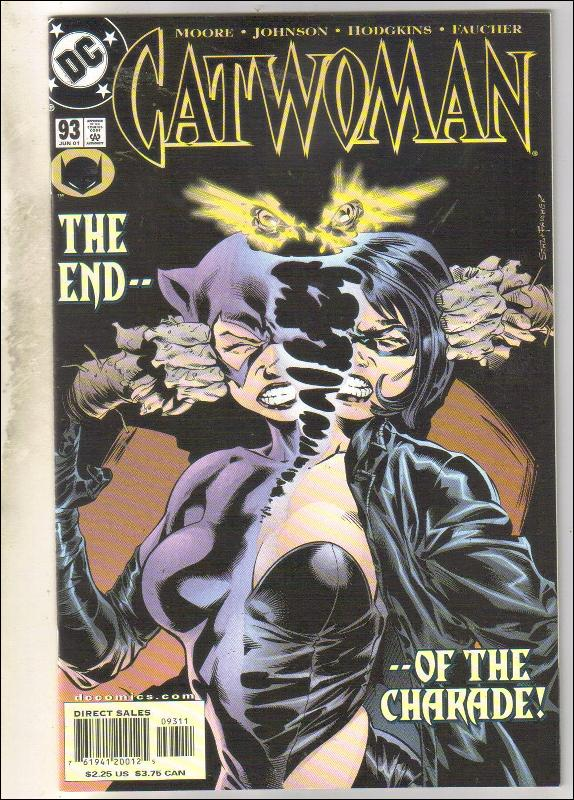 Catwoman #93 comic book near mint 9.4