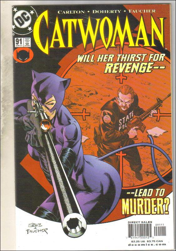 Catwoman #91 comic book near mint 9.4
