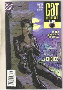 Catwoman #37 comic book very fine 8.0
