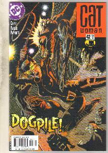 Catwoman #42 comic book near mint 9.4
