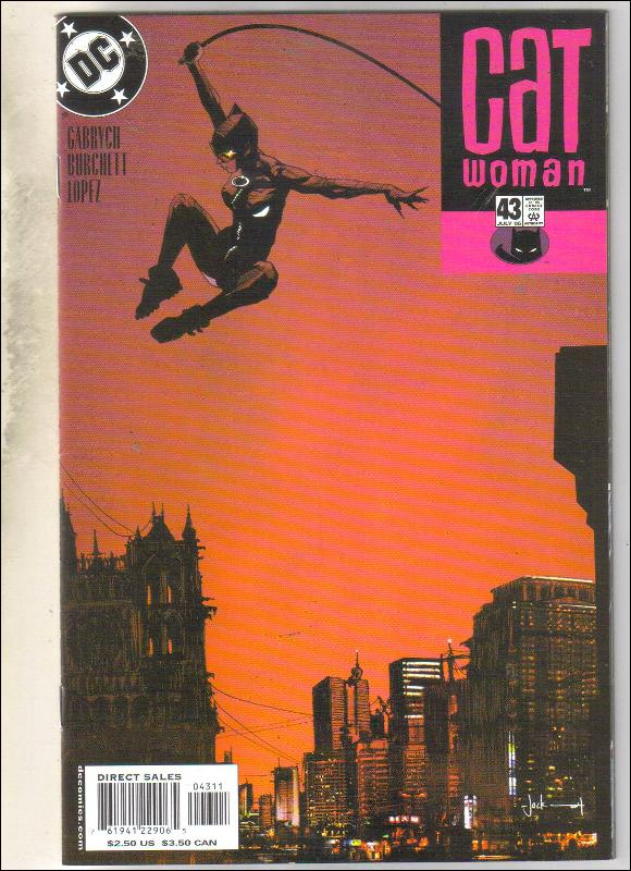 Catwoman #43 comic book near mint 9.4
