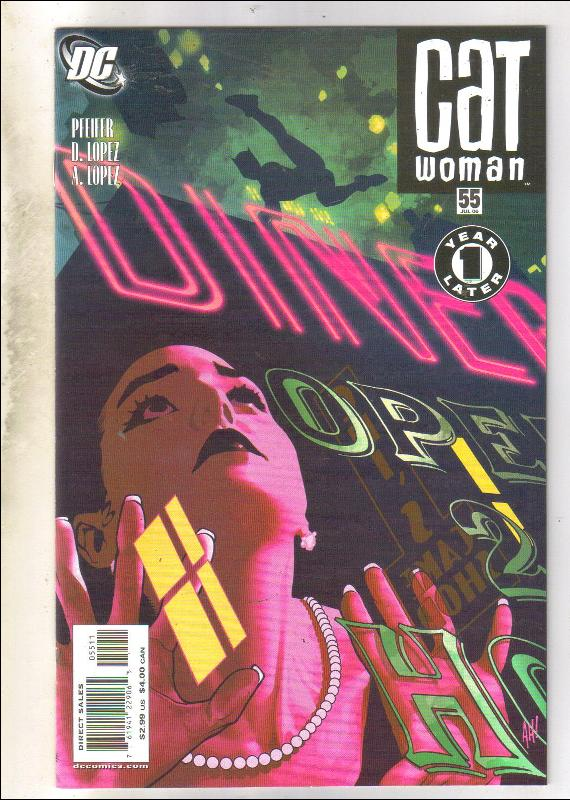 Catwoman #55 comic book near mint 9.4