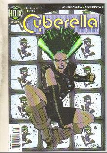 Cyberella #1 comic book near mint 9.4