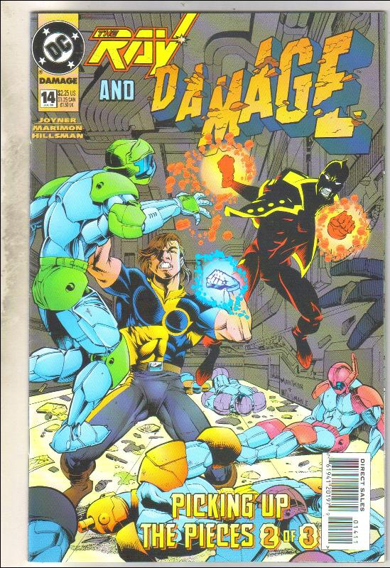 Damage #14 comic book near mint 9.4