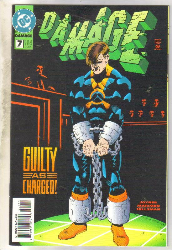 Damage #7 comic book near mint 9.4