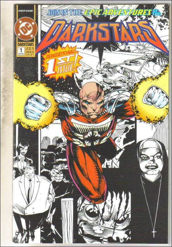 Darkstars #1 comic book near mint 9.4