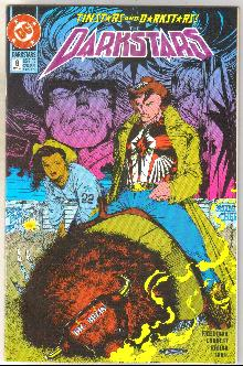 Darkstars #8 comic book near mint 9.4