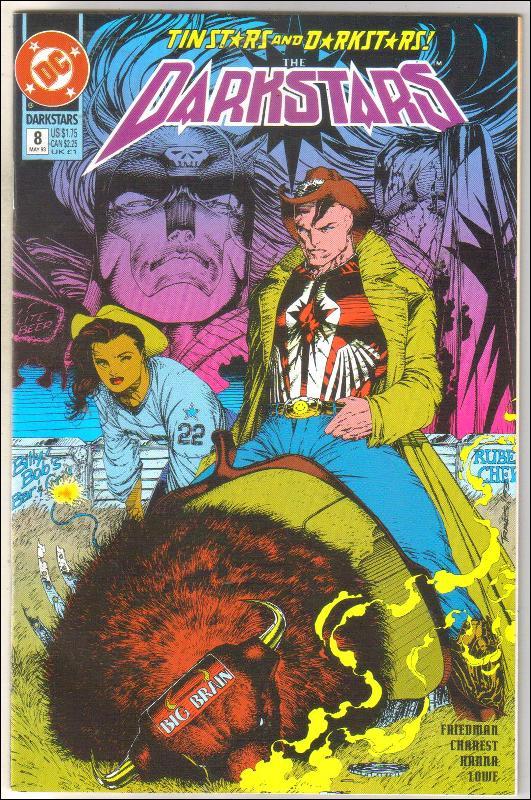 Darkstars #8 comic book near mint 9.4
