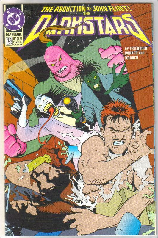 Darkstars #13 comic book near mint 9.4