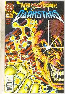 Darkstars #27 comic book near mint 9.4