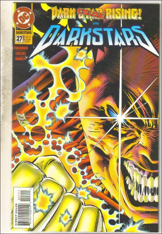 Darkstars #27 comic book near mint 9.4